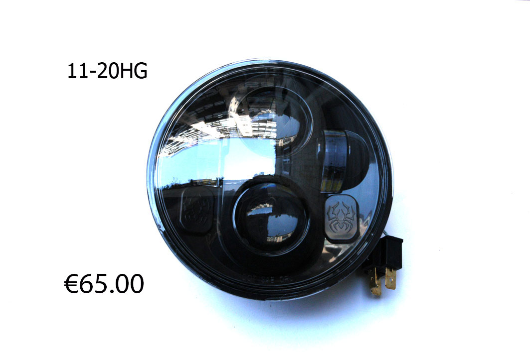 11-20HG HEADLAMB 5 3/4 LED DARK