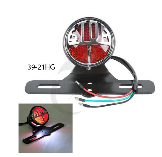 39-21HG LED TAIL LIGHT LICENSE PLATE
