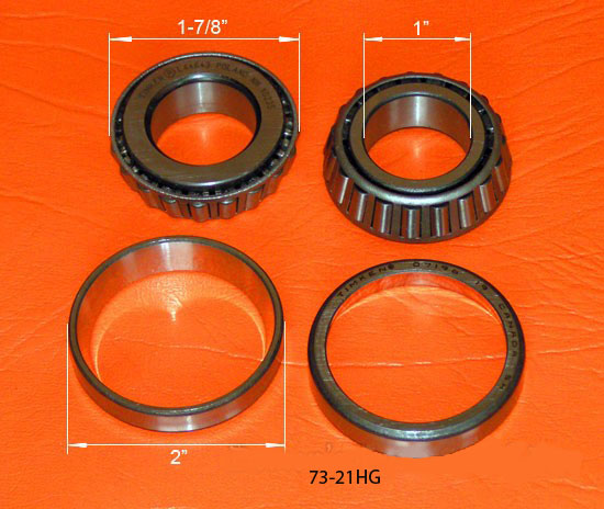 73-21HG CUP and BEARING for Neck Frame