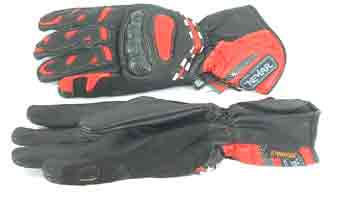 - Sports Red Gloves