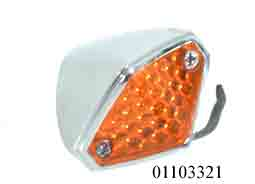 01103321 FRECCE DIAMOND CROMATO AMBRA A LED