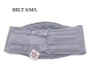 BELT L CINTURA REGGI RENI IN PELLE LARGA